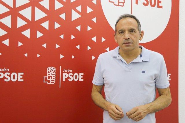 Archivo - El secretario de Organización del PSOE de Jaén, Jacinto Viedma.
