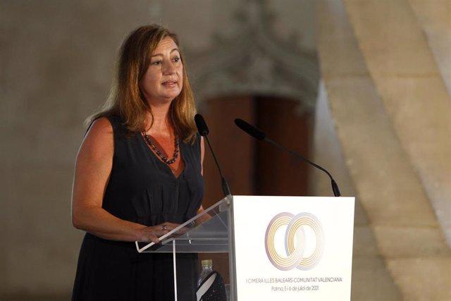 La presidenta balear, Francina Armengol.