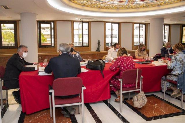 El presidente del Gobierno de Canarias, Ángel Víctor Torres, preside el Consejo de Gobierno