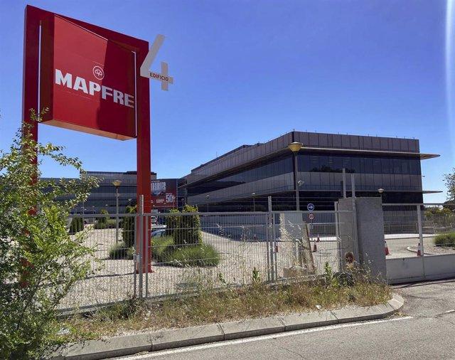 Archivo - Sede de la aseguradora Mapfre en Majadahonda (Madrid)