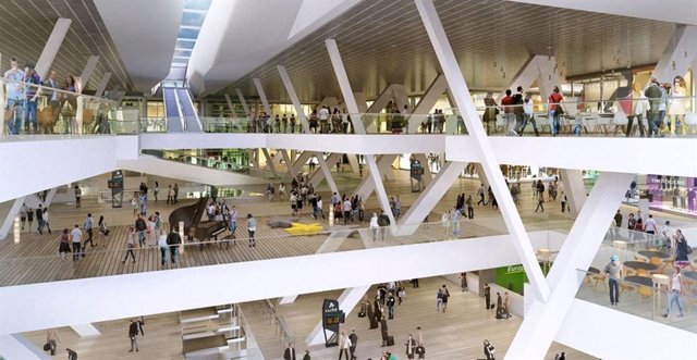 Centro comercial Vialia Vigo.
