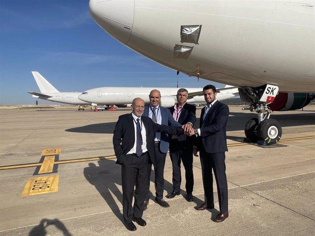 Luis Torrente Naveira, nuevo director del Aeropuerto de Ciudad Real tras la jubilación de Juan León León.