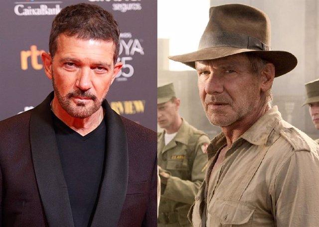 Antonio Banderas ficha por Indiana Jones 5 y se une a Harrison Ford
