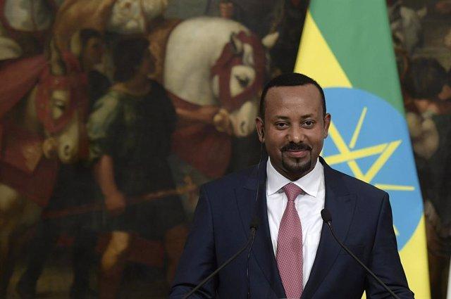 Archivo - El primer ministro de Etiopía, Abiy Ahmed