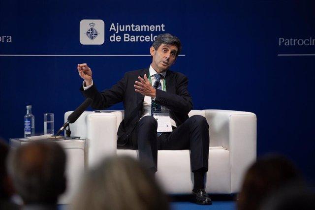 El presidente de Telefónica, José María Álvarez-Pallete, en la Reunión del Círculo de Economía