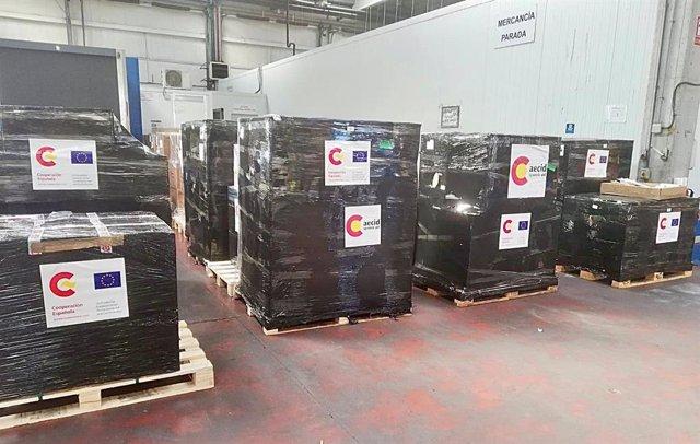 Exteriores y Sanidad envían ayuda humanitaria a Túnez para luchar contra la COVID-19