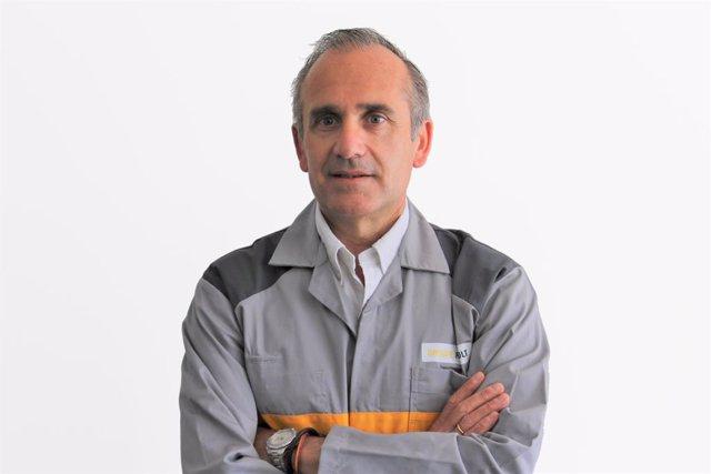 Javier Novo, director de la nueva planta independiente de Carrocerías que incluye el Taller de Baterías de Valladolid.