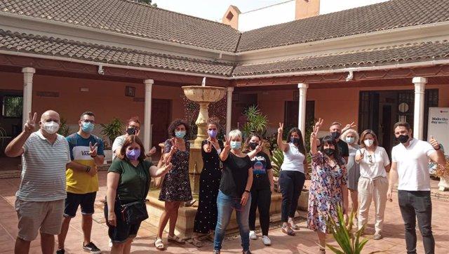 Inicio de las 'Lanzaderas conecta empleo' en Torremolinos (Málaga)