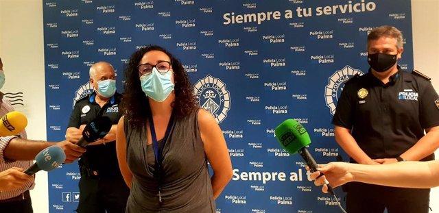 Policía Local y Nacional desarrollan en Palma el séptimo operativo contra el botellón tras el fin del toque de queda.