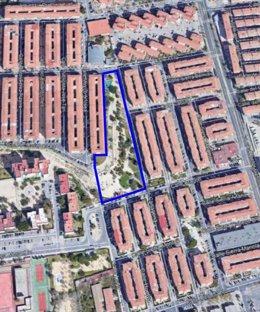 El Ayuntamiento renovará el 'Parque del Barrio' en Virgen del Remedio y lo dotará de juegos inclusivos