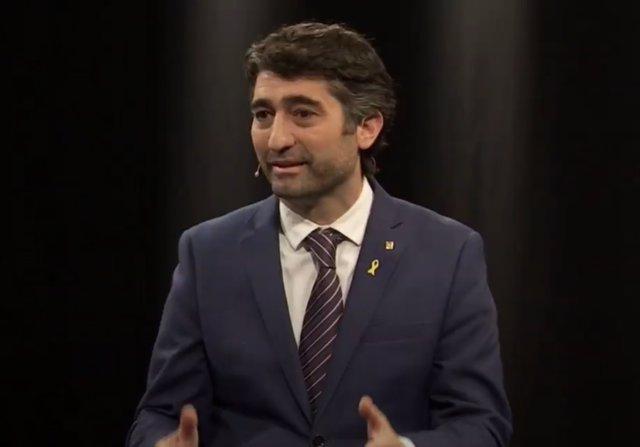 Archivo - Arxiu - El vicepresident del Govern, Jordi Puigneró