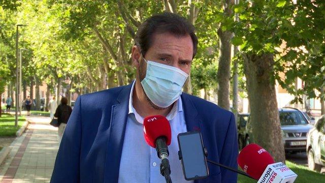 El alcalde de Valladolid, Óscar Puente.