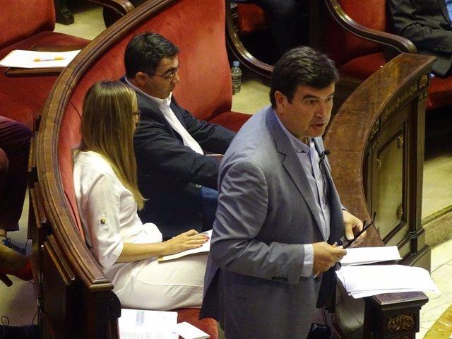El portavoz de Cs en València, Fernando Giner.