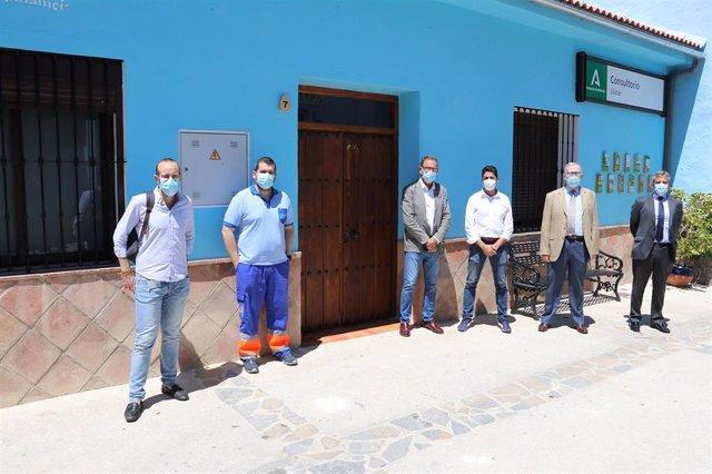 El nuevo consultorio de Júzcar (Málaga)