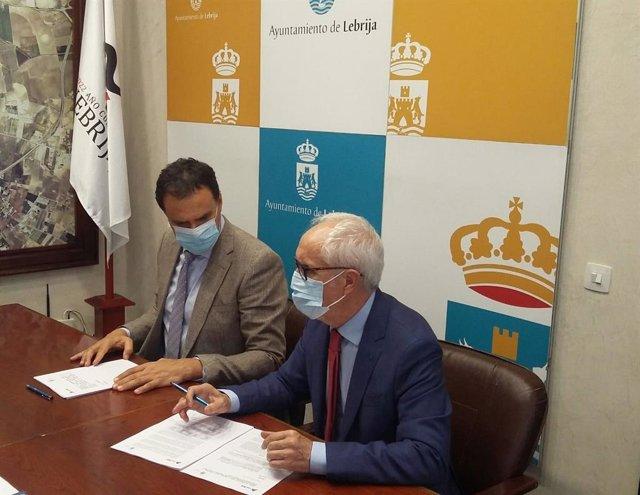 Firma de convenio para la Vía Verde de Lebrija