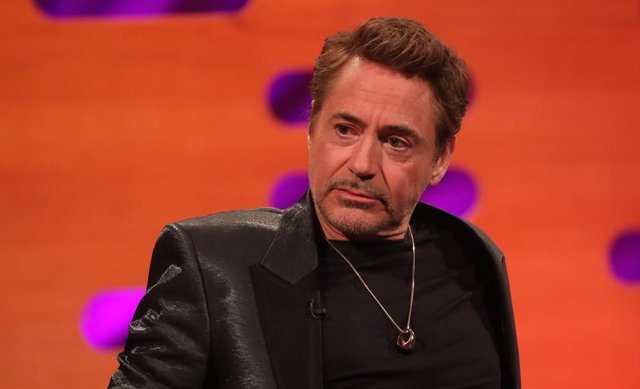 Archivo - 23 January 2020, England, London: American actor Robert Downey, Jr. looks on during the Graham Norton Show at BBC Studioworks 6 Television Centre, which will be aired on BBC One at the 24th of January. Photo: Isabel Infantes/PA Wire/dpa