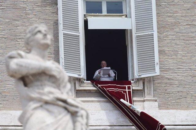 El Papa en el rezo del ángelus