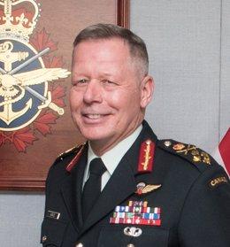 Archivo - El exjefe del Estado Mayor del Ejército de Canadá, Jonathan Vance
