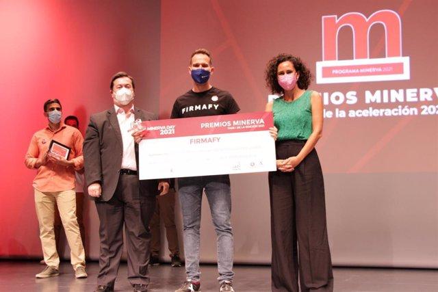 La startup granadina Firmafy, premiada por el Programa Minerva por su desempeño en la aceleración