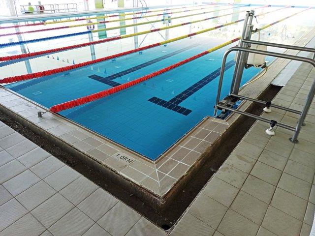 Cierran hasta el 1 de agosto por obras la piscina del polideportivo municipal Rudy Fernández