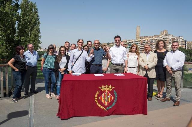 Archivo - Arxiu - El govern de l'Ajuntament de Lleida