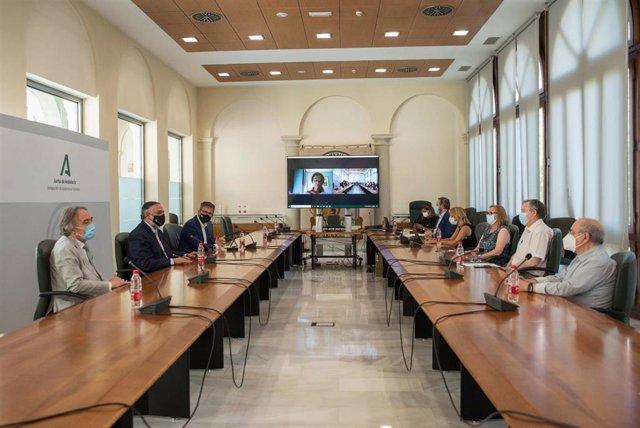 La Junta celebra la Comisión de Coordinación del Inicio del Curso Escolar 2021-2022