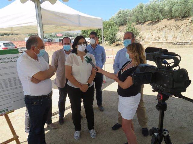 Comienzan las obras de la Agrupación de Vertidos y EDAR de Huétor Tájar (Granada) con una inversión de más de cinco millones