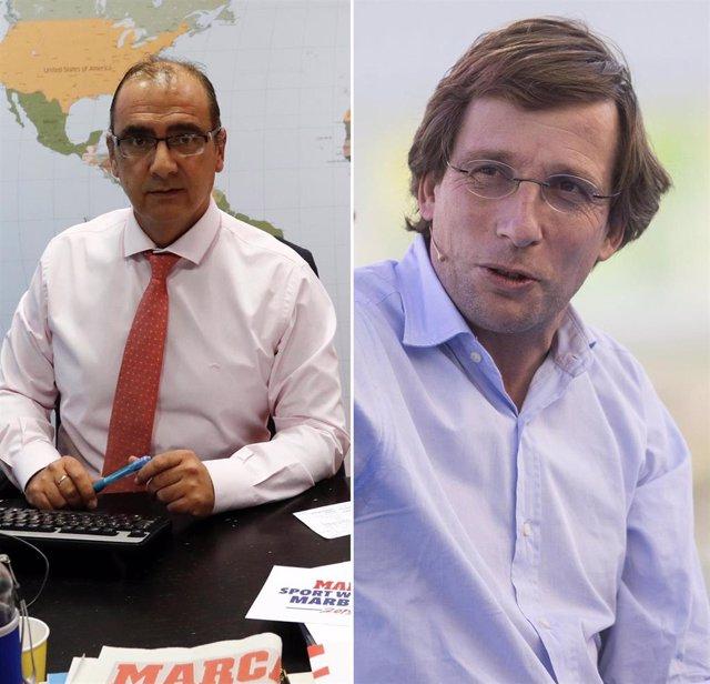 José Luis Martínez-Almeida y Juan Ignacio Gallardo, Socios de Honor 2021 de la ONG KM Solidarity