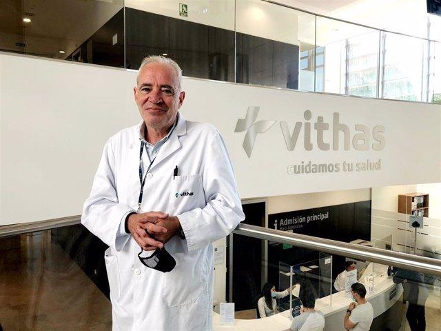 El doctor Antonio Valverde Mariscal, nuevo director médico de Vithas Granada.