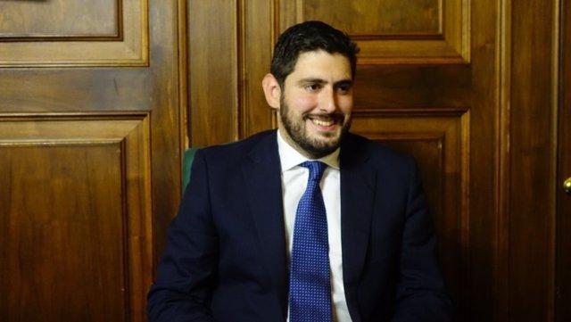 Alejandro Nolasco, portavoz de VOX en el Ayuntamiento de Teruel