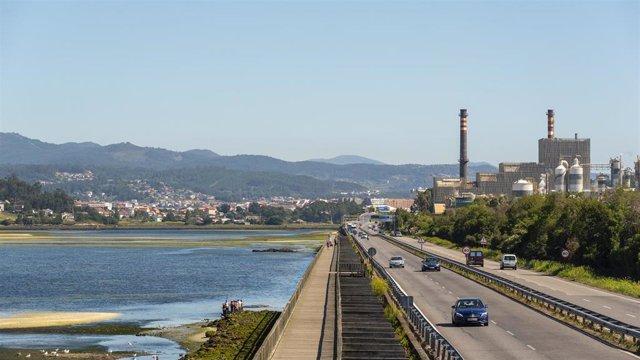 Archivo - Ence en Pontevedra