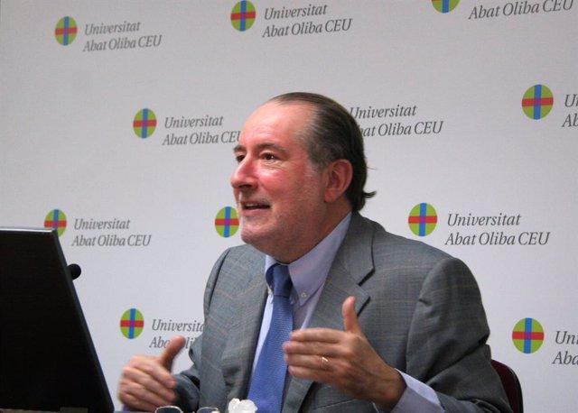 Archivo - Arxiu - L'economista i professor universitari José María Gay de Liébana