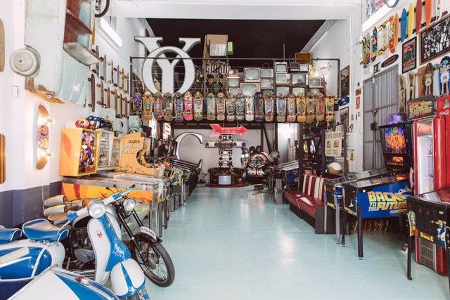 Archivo - Arxiu - Manzoni's Garage, el primer museu dedicat a l'skate a Espanya