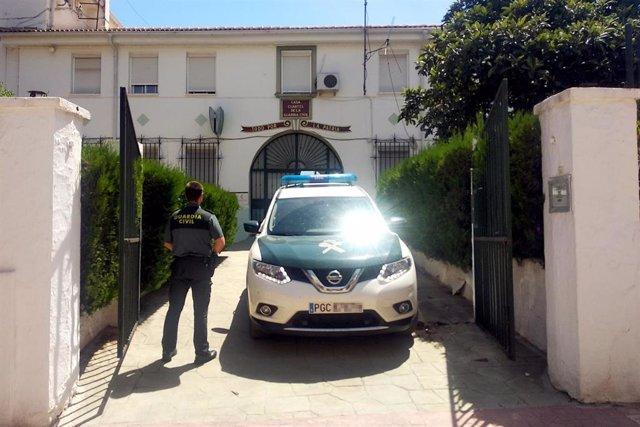 Cuartel de la Guardia Civil en Santisteban del Puerto