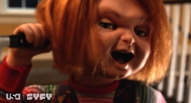 Aterrador tráiler de Chucky: El muñeco diabólico salta a la televisión
