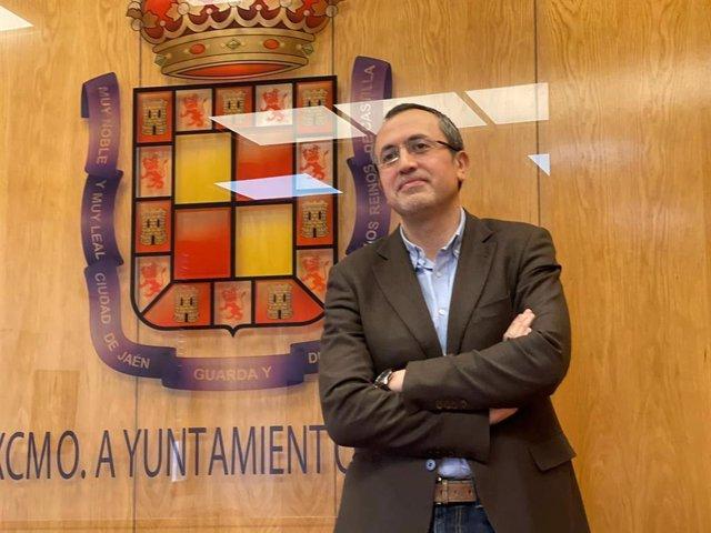 Archivo - Manuel Bonilla, portavoz del PP en el Ayuntamiento de Jaén