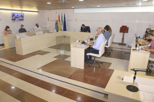 Fotografía del Pleno de La Rinconada (Sevilla).