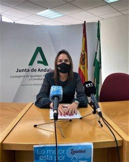Archivo - María Dolores Fernández, delegada de Igualdad de la Junta de Andalucía en Málaga