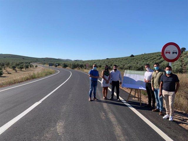 Diputación visita la zona.