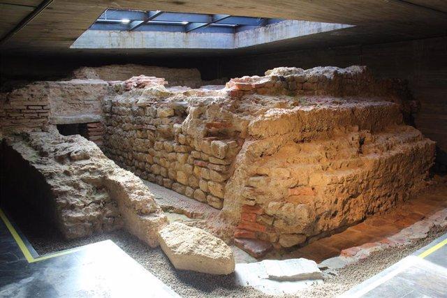 Cripta romana de Puerta Obispo.