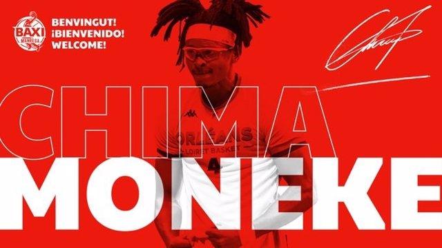 El Baxi Manresa se refuerza con el ala-pívot nigeriano Chima Moneke