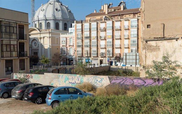 Solar del Ayuntamiento de Cartagena en el centro histórico