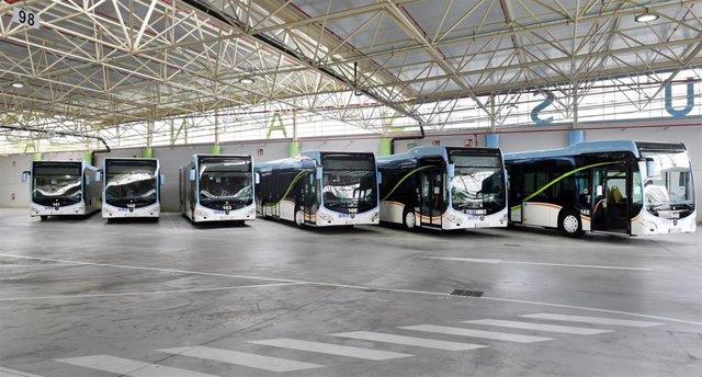 Archivo - Autobuses de Santander