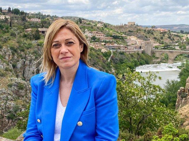 Archivo - La coordinadora de Cs en C-LM, Carmen Picazo, en entrevista con Europa Press