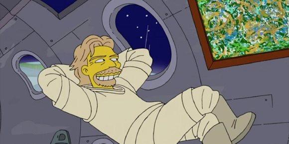 9. Los Simpson ya predijeron el viaje espacial de Richard Branson en 2014