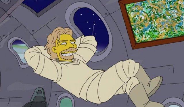 Richard Branson en Los Simpson