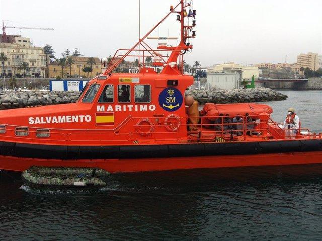Archivo - Embarcación Salvamar Gadir en una imagen de archivo.