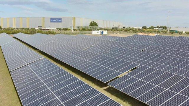 Archivo - Imagen de archivo de una planta fotovoltaica