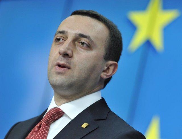 El primer ministro de Georgia, Irakli Garibashvili