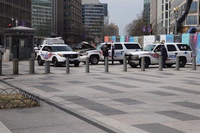 Archivo - Imágen de vehículos de la Policía Metropolitana del Distrito de Columbia